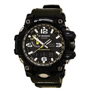 Casio Mens GWG1000-1A3 G-Shock Analog Digital Tough Solar Green Watch
