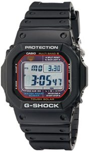 G-Shock GWM5610-1 Mens Solar Black Resin Sport Watch